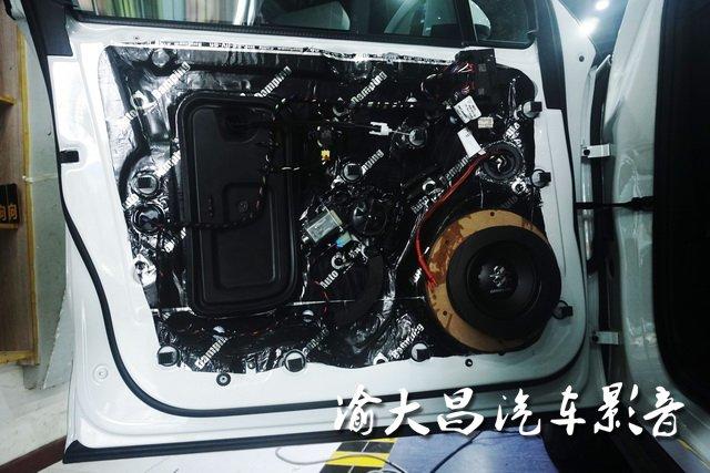 专属音乐厅 保时捷macan汽车音响改装德国零点三分频—重庆渝大昌
